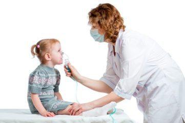 ингаляции с небулайзером у детей